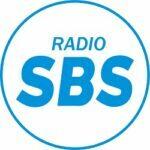 Radio SBS logo blauw
